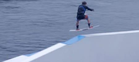 SNOWBOARDER OG WAKEBOARDER: Norgesmester i kabel wakeboarding og wakeboarding bak båt Odd Roar Solerød.