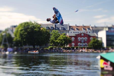 HØYT NIVÅ: Mange gode kjørere deltok i Cope n´Waken. Foto: Samon Vidic/ Red Bull photo files