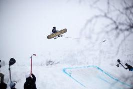 VANT: Remi Meum vant kabelkonkurransen på Haugastøl. Foto: Christian Nerdrum