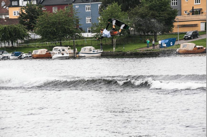 NY MESTER: I år var det Jørn Simen Aabøe sin tur til å ta tittelen i wakeboard NM. Foto: (arkiv) Christian Nerdrum