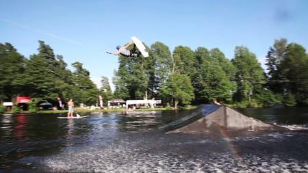 Odd Roar har lært seg noen nye triks i forkant at konkurransen i Tønsberg