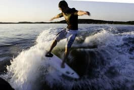 ARRANGØR: André Natland inviterer til Surf City i Tønsberg i sommer.  Bilde: Christian Nerdrum