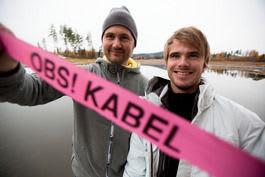 KABELGUTTA: Jørgen Nydahl og André Natland er i samarbeid om 2.0 i Norge. Bilde: Christian Nerdrum