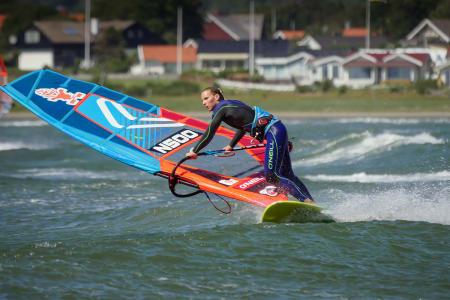 KLAR FOR NY SESONG: Oda Johanne Stokstad Brødholt har ladet opp til sesongen i blant annet Sverige. Foto: Christer Holm / Wave Action