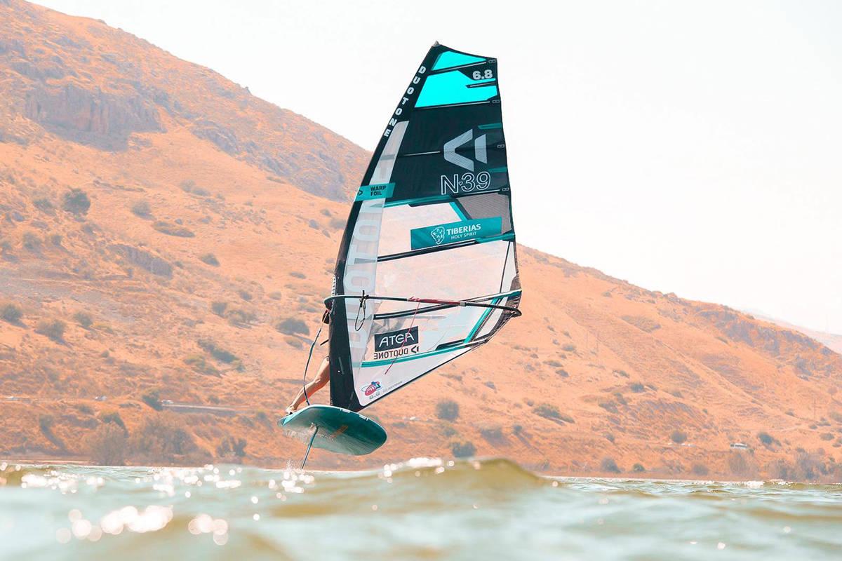 Helle Oppedal windfoli windsurf