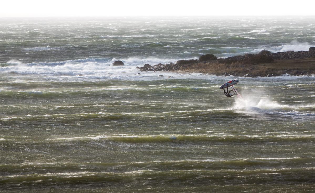 Høststorm på Hvaler