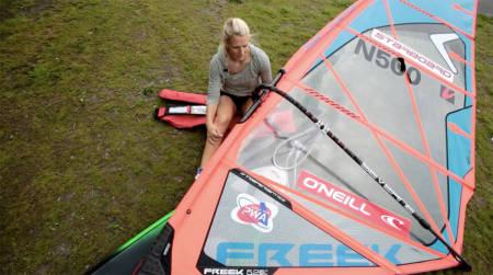 vannstart windsurfing windsurf