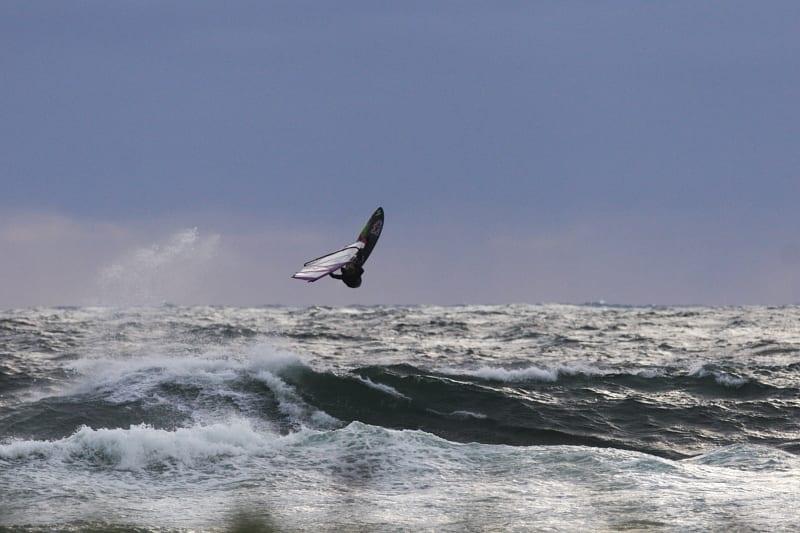 DRØMMEDAG: Når vær og vind klaffer, da er det lite som slår Jæren. Foto: Pål Rype