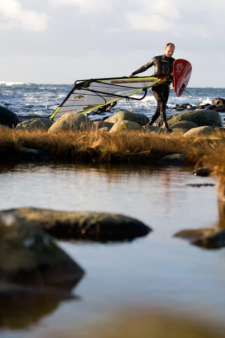 Robert Torkildsen er et fast innslag med kort vei fra Kristiansand.Bilde: Nils-Erik Bjørholt