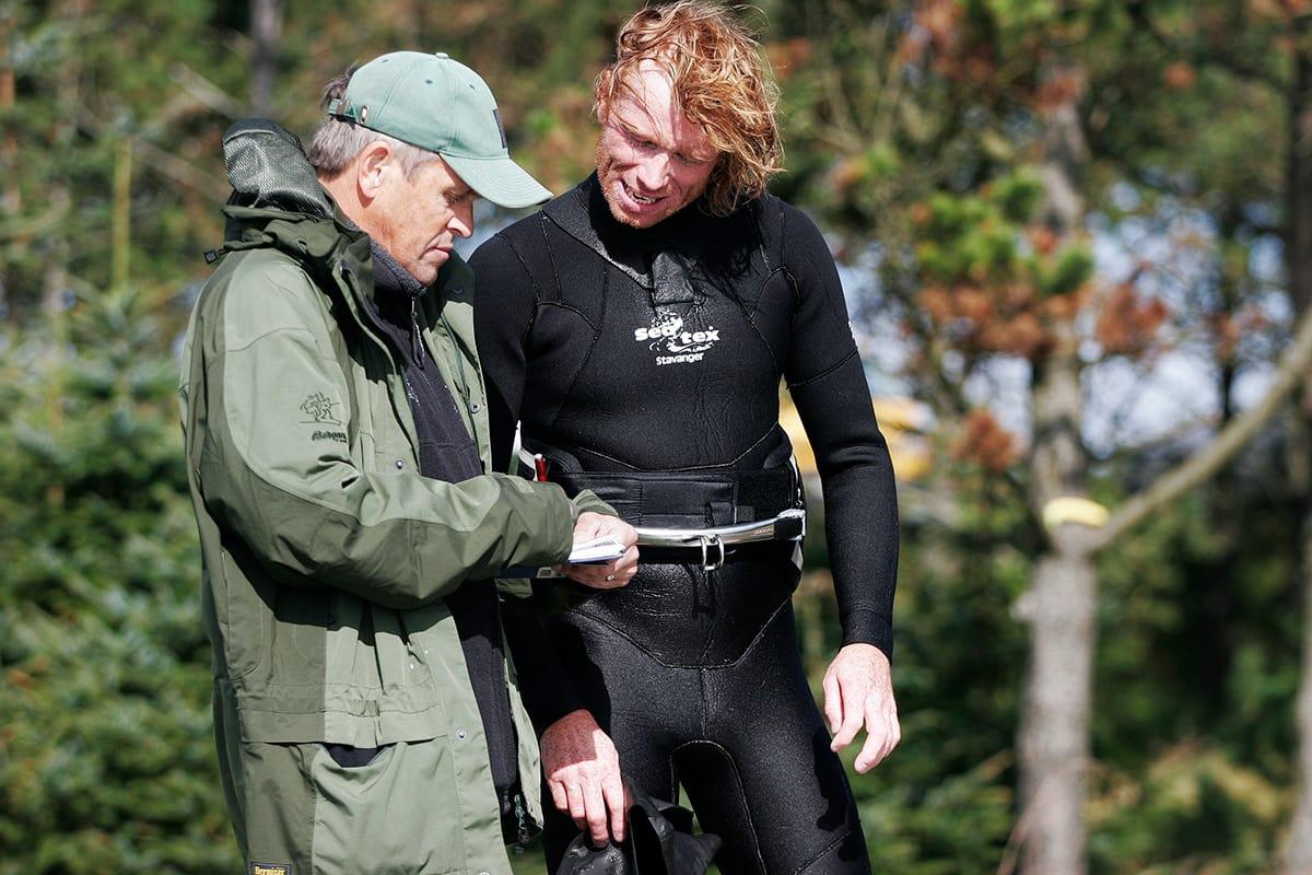 ULOVLIG: Fylkesmannen på Lista noterer navn på uvelkomne surfere. Foto: Christian Nerdrum