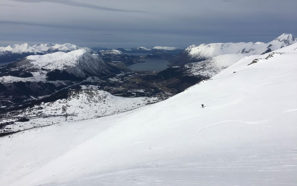 High Camp Sunnmøre. Veirahaldet. Foto Lisa Kvålshaugen Bjærum