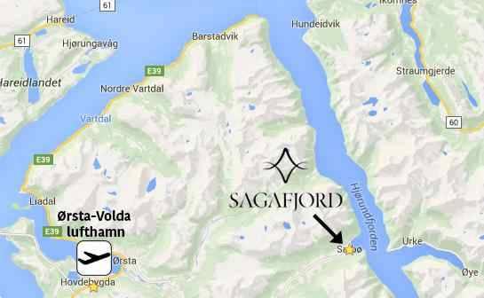 Transport til Sagafjord Hotel - High Camp Sunnmøre