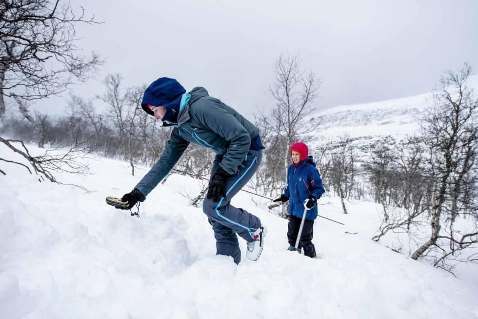 Lær deg mer om snøomvanlig, stabilitetstester og kameratredning på skredworkshop for viderekomne. Foto: Martin I. Dalen.