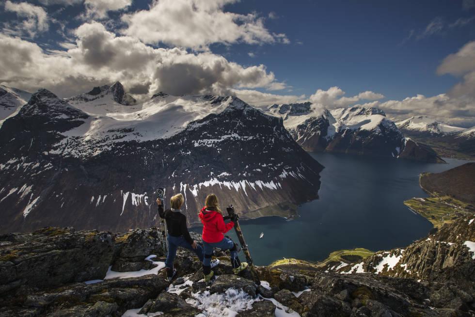 Eventyret venter. Bildet er fra HighCamp Sunnmøre. Foto: Håvard Myklebust