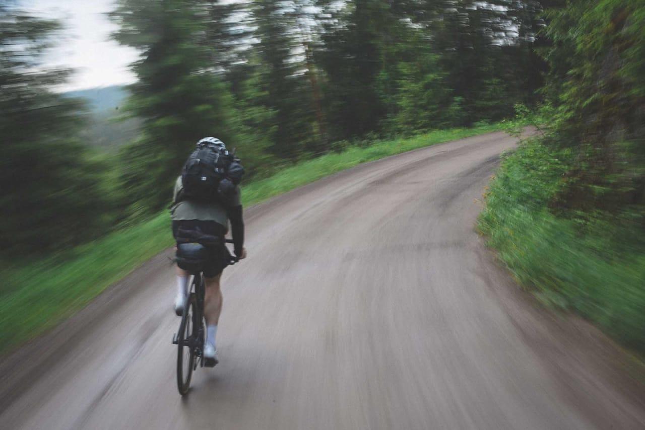 UT PÅ TUR: Pakker du sykkelen kan du få helt unike turopplevelser.Foto: Kristoffer H. Kippernes