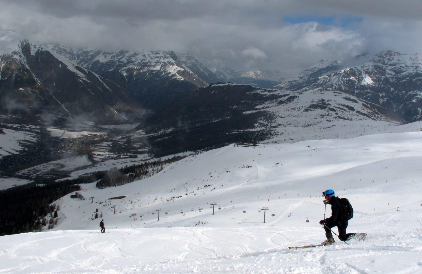 LØS: Det er både skikjøring og skihistorikk i festivalen. Foto: Pål-Trygve Gamme