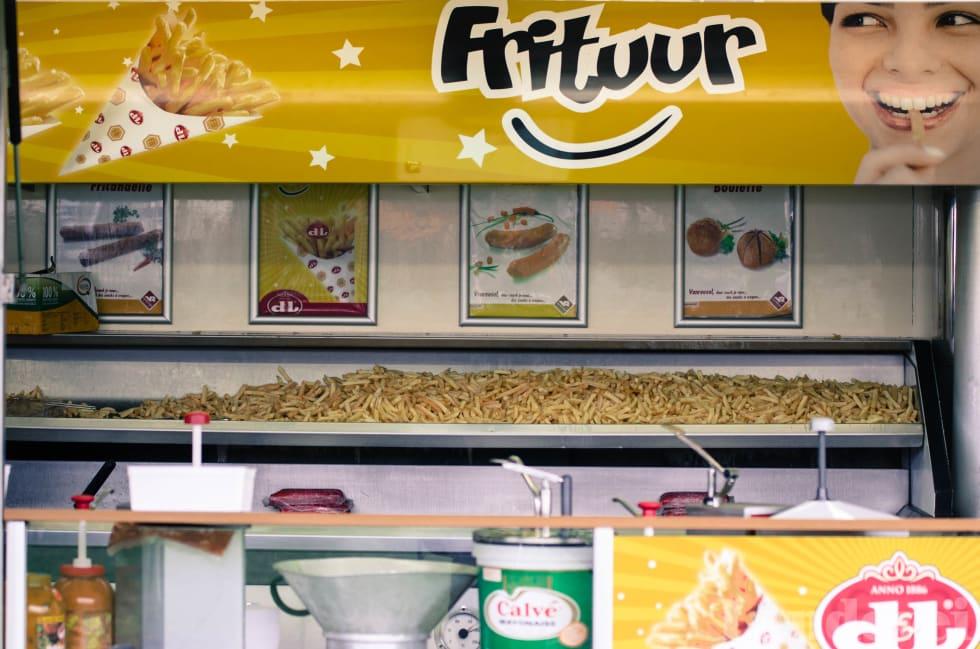 HELSEKOST: Belgiere har like stor tro på frites som tyskere har på kurbad.