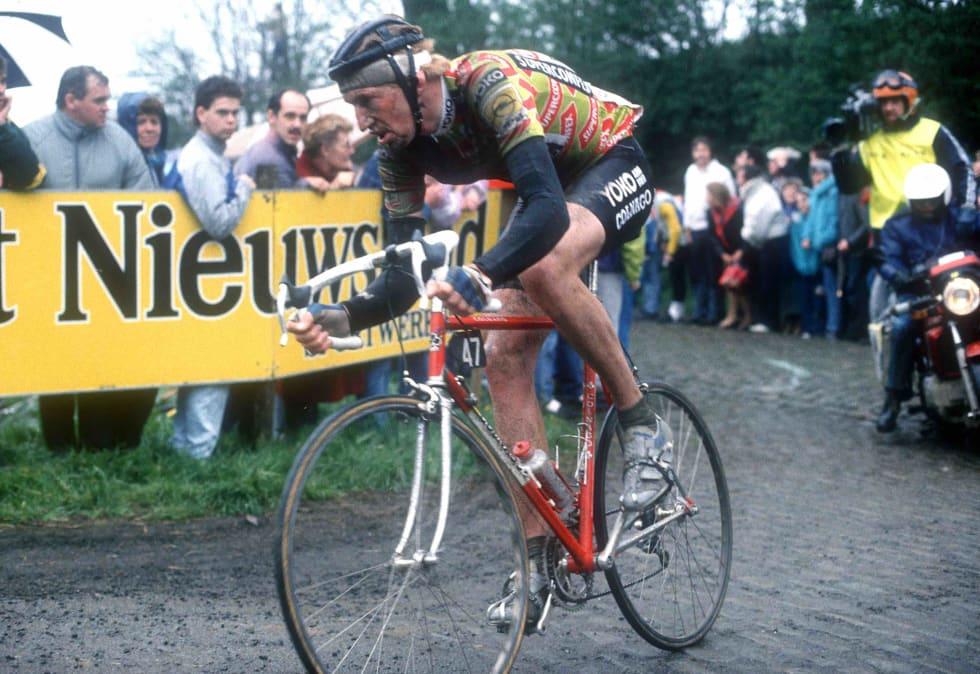 STOR MANN, STOR LEGENDE: Eddy van Hooydonk avgjorde i Bosberg i '89 og '91. Det gav ham kallenavnet «Eddy Bosberg». Foto: Cor Vos.