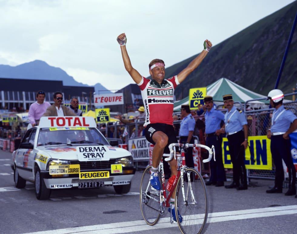 STORT NAVN: Dag Otto er populær i Belgia, og alle kjenner etappeseieren hans fra Tour de France i 1987. Foto: dagotto.no