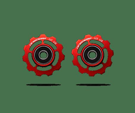 FRIKSJONSFRI: Ceramic Speeds trinsehjul sparer krefter og ser ut som en million dollars.