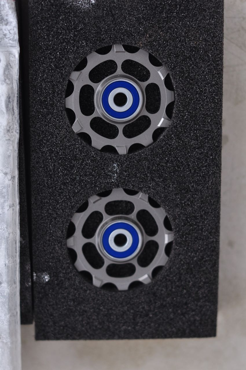 SMYKKER: Trinsehjulene er superfine og gir god kvalitetsfølelse.
