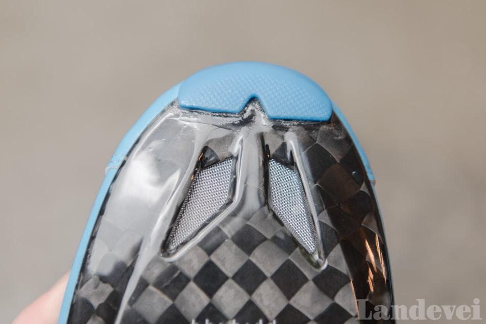 SVALT: Classique har to store lufteluker under tærne, i tillegg til langsgående lufteluker under fotbladet.