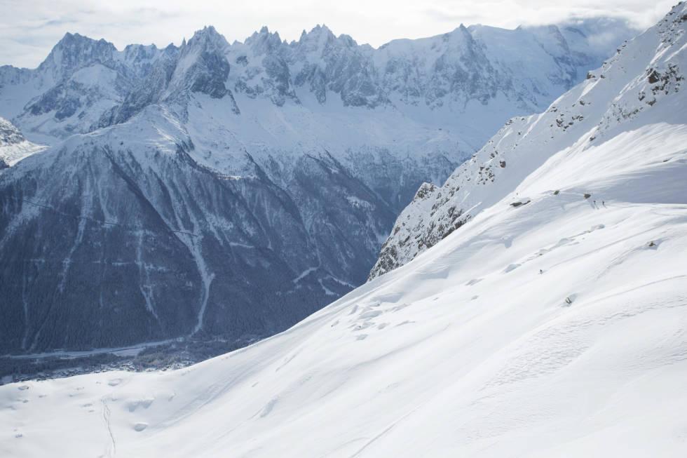 VAKKERT: Chamonix byr på fantastisk skikjøring ned mot dalen. Foto: Tore Meirik