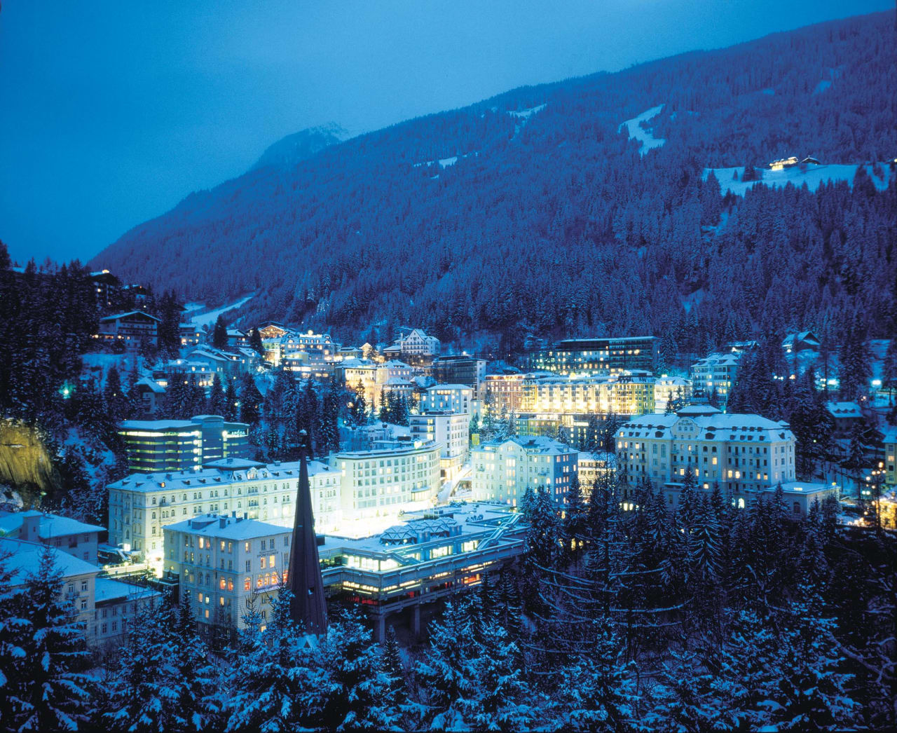 POPULÆR VINTERFAVORITT: 5000 nordmenn reiser årlig til Bad Gastein bare med STS, og er det mest populære alpemålet for skandinaviske skiturister. Foto: Christian Nerdrum