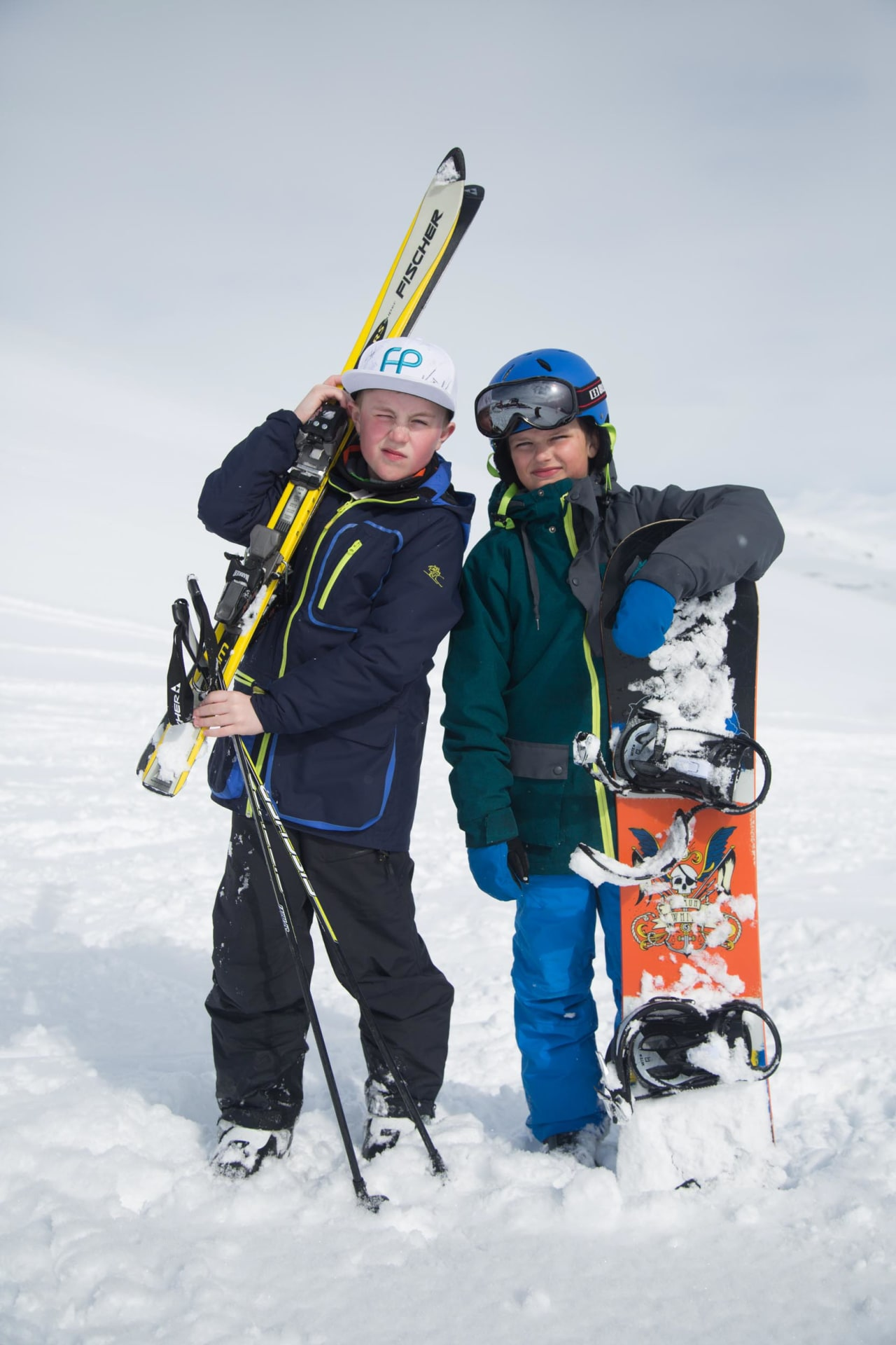 LOCALS: Meløys unge garde har attityden i orden. Kanskje følger ferdighetene etter. Foto: Thomas Kleiven