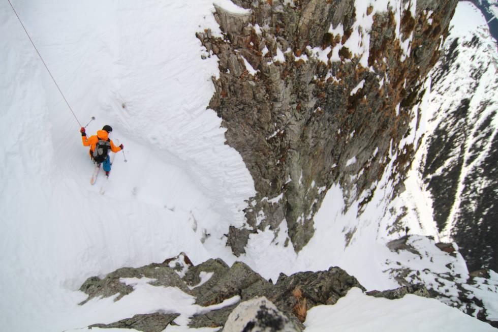 STUPBRATT: Chamonix kan by på stupbratte opplevelser. Foto: Tore Meirik
