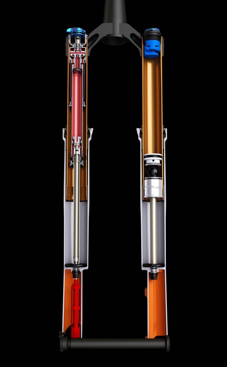 INNI: Slik er gaffelen innvendig. Foto: Fox