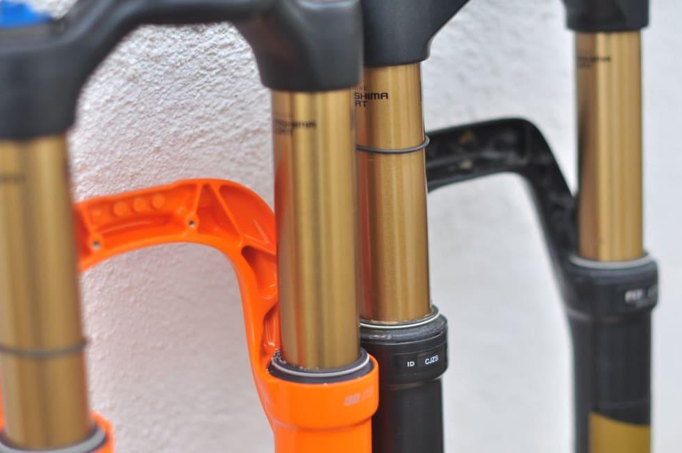SKRAPET: Også i gaffelbroen er det høvla bort litt mer materiale fra 32 Step Cast enn fra Float.