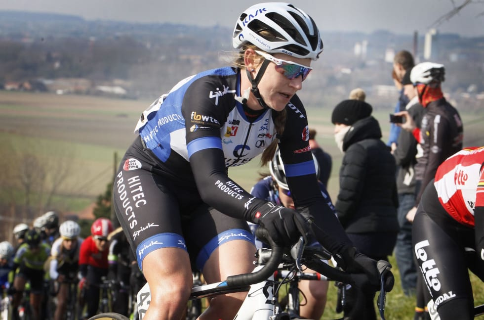 Lauren Kitchen Omloop van Nieuwsblad 2016 Cor Vos 1400x924