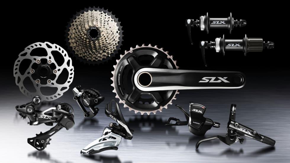 HELE GRUPPA: Også nye bremser er inkludert i nye SLX 7000/7010.