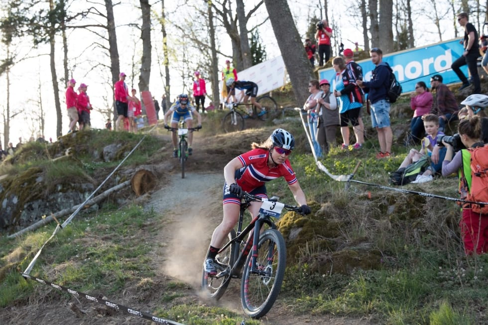 Elisabeth Sveum - Sprint B finale - Bengt Ove Sannes
