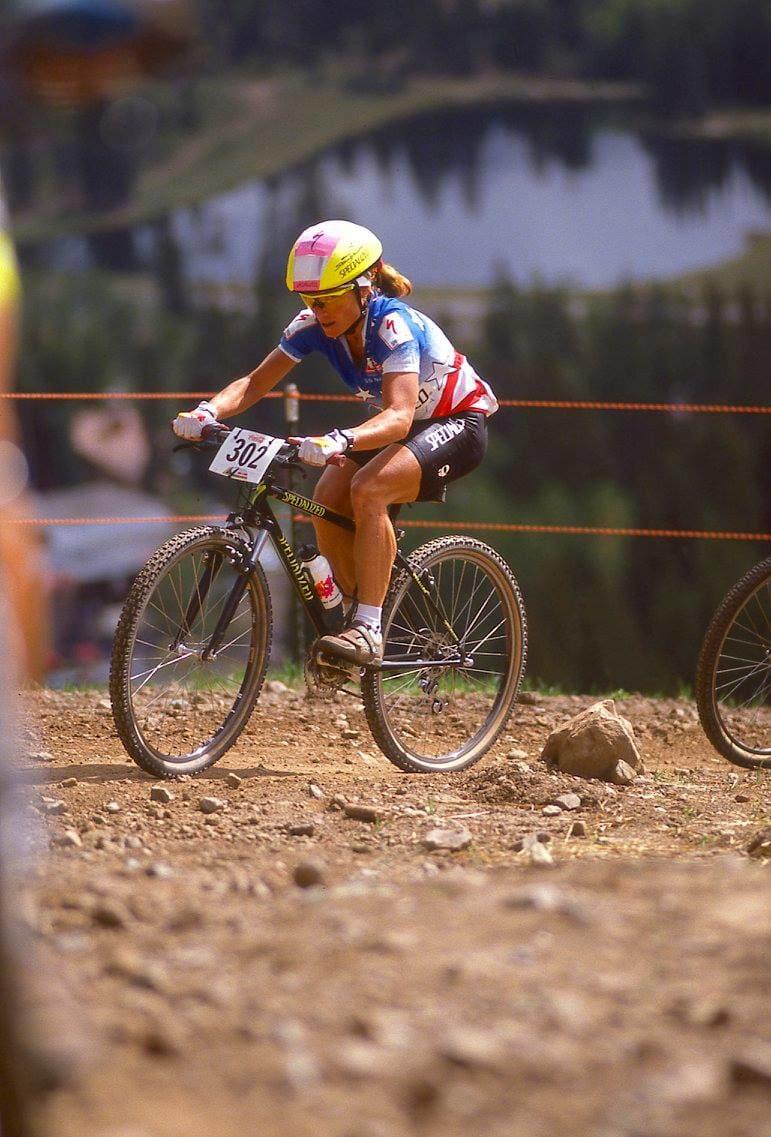 FAVORITT: Sarah Ballentine var den ledende amerikanske jenta i 1990. Hun hadde vunnet amerikanernes egne uoffisielle VM både i 1987, 1988 og 1989. I Purgatory ble det sølv.