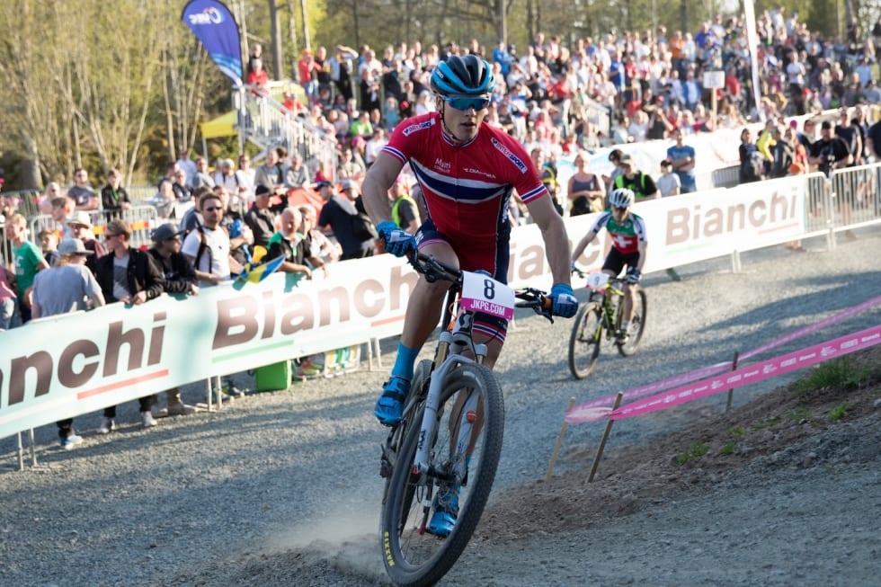 Torjus Bern Hansen EM sprint B finale - Bengt Ove Sannes