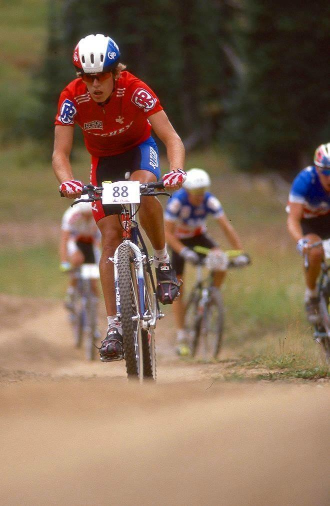FRISCHI: Sveitseren Thomas Frischknecht var bare 21 år i 1990. Frischi valgte bort en superkarriere i CX for det ukjente på terrengsykkelen.