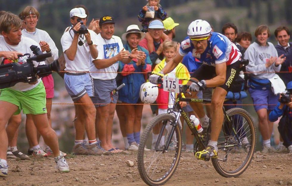 """LUNGEN: Ned """"The Lung"""" Overend var John Tomacs motpol i terrengsykkelsirkuset. Han ble tidenes første verdensmester i Purgatory."""