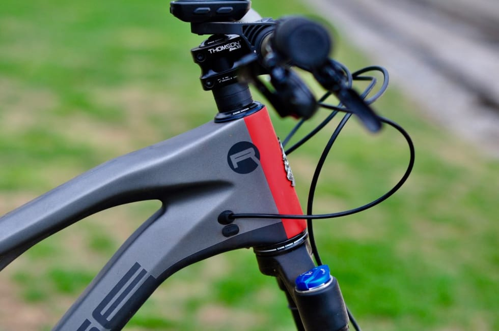 RYDDIG: Kabelføringen er tilpasset både mekanisk og elektrisk giring.