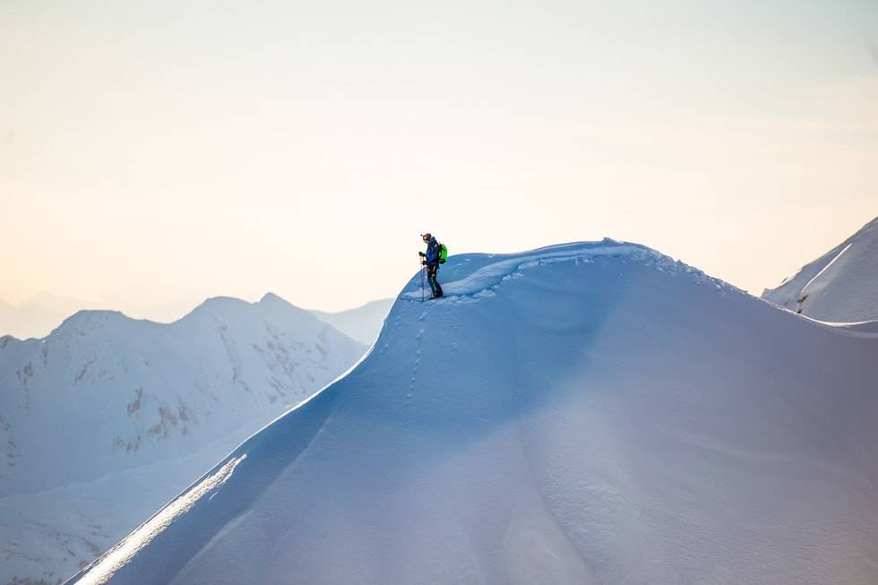 FRIKJØRER: Aksel Lund Svindal håper å få mer tid til akkurat dette - som da han var i Haines i Alaska. Foto: Sverre Hjørnevik / Field Productions