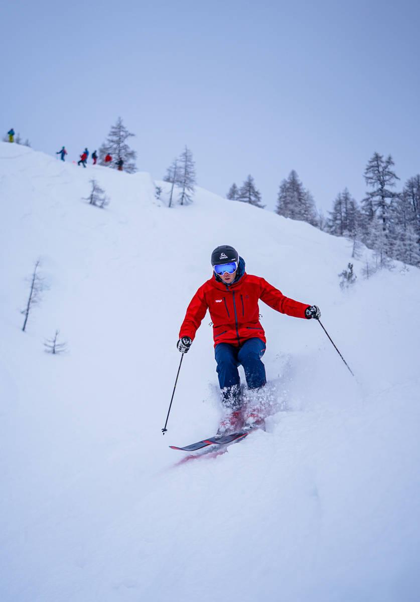 Benjamin Raich i Alpene