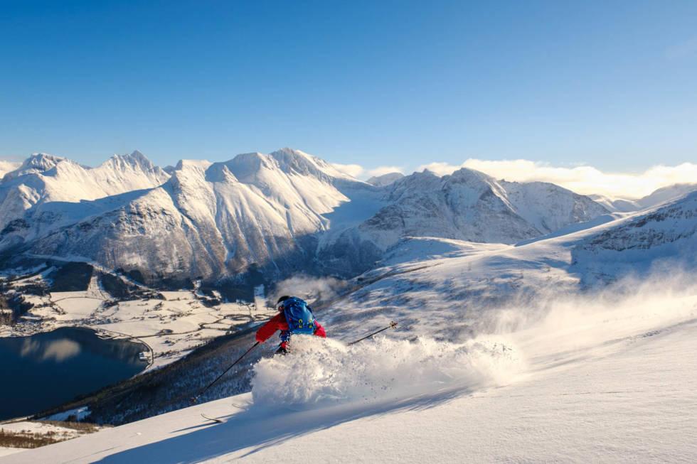 Romsdalen snø