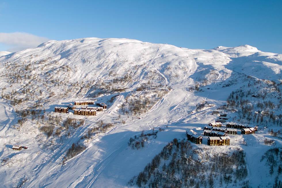 TO HEISER: Haukelifjell har åpnet to heiser så langt i år. Foto: Andrzej Grochocki