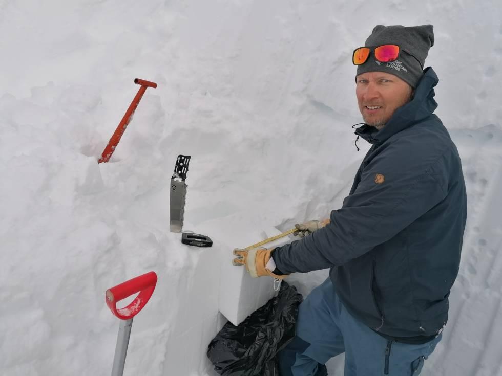 Snø Lyngen