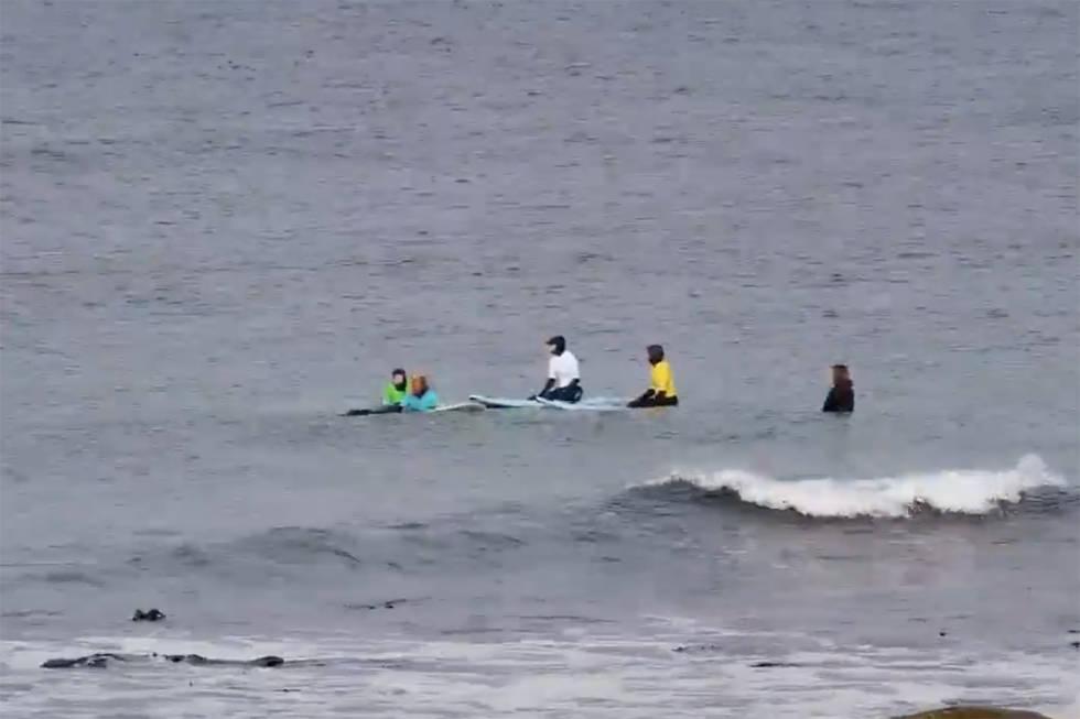 Ingrid Alexandra surf