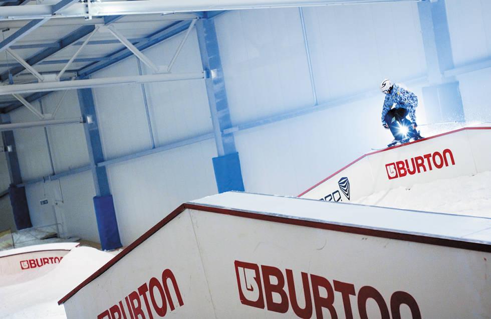 Railpark i innendørs skisenter.