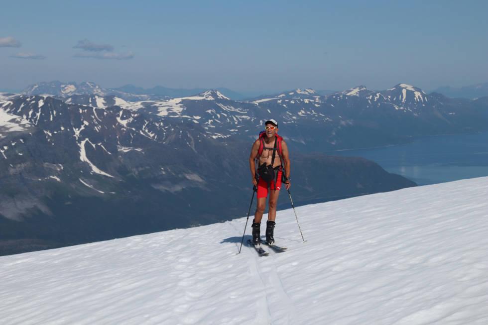 Espen Nordahl på fjellet om sommeren