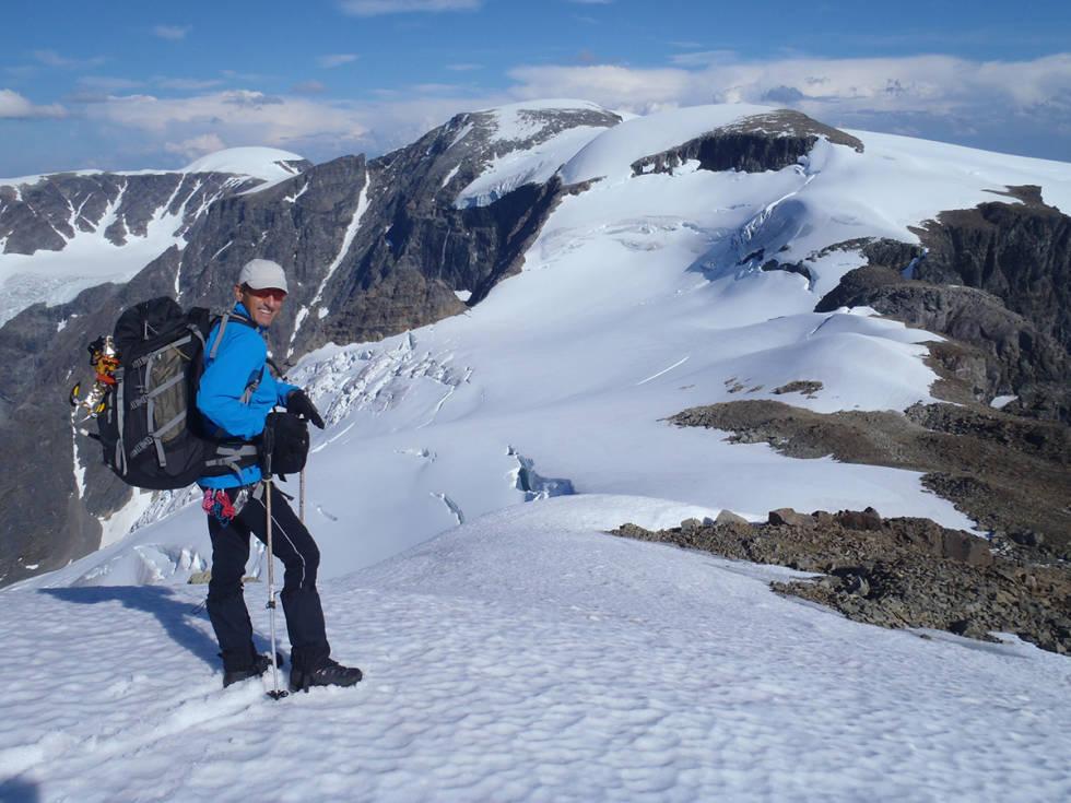 Espen Nordahl på toppen
