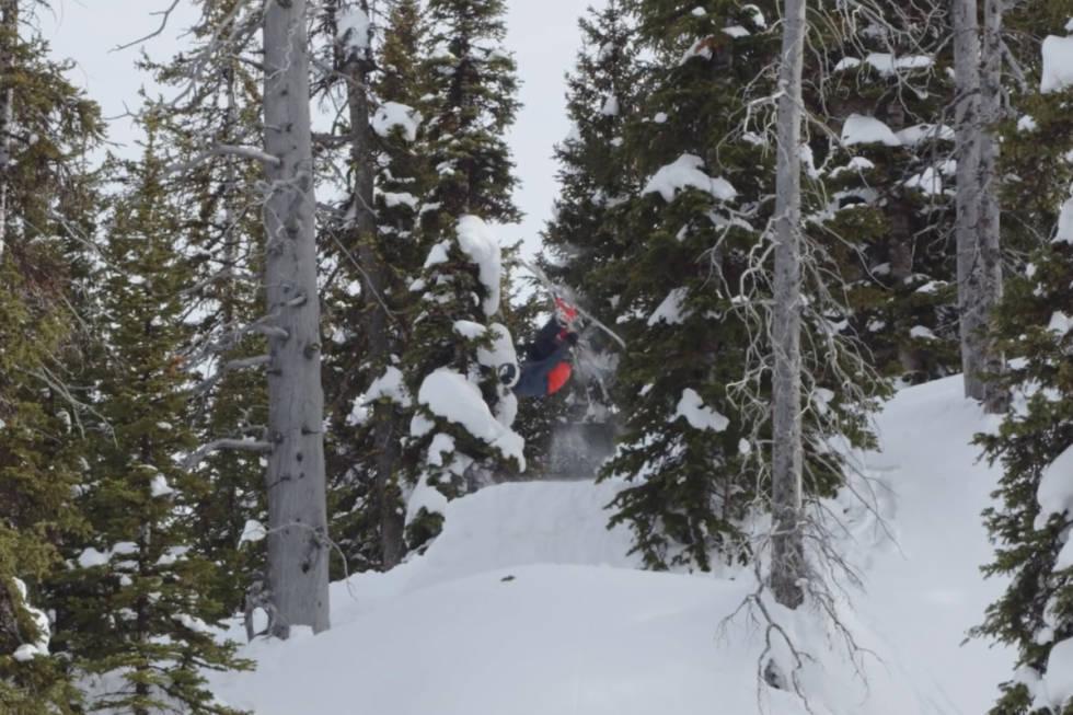 Kai Jones skifilm TGR
